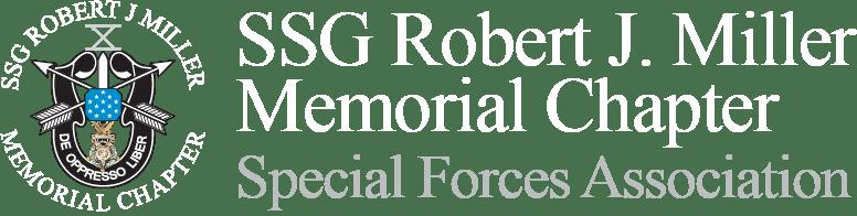 SSG Robert J Miller Memorial Chapter Logo